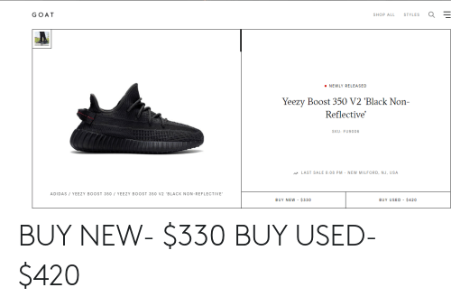 the best attitude 09142 06d2f GOAT SHOP ALL STYLES NEWLY RELEASED Yeezy Boost 350 V2 ...