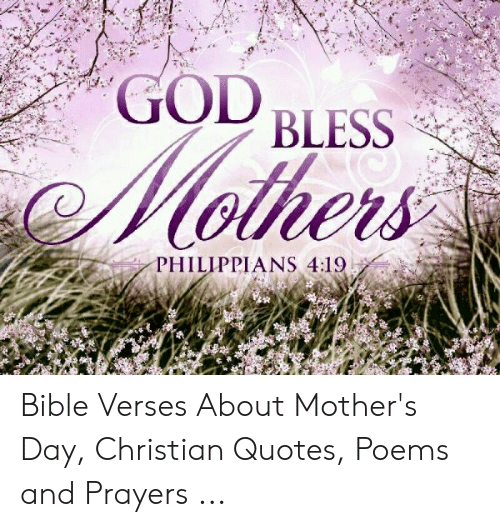 god bless philippians bible verses about mother s day