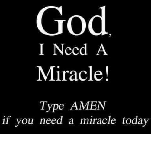25 Best I Need A Miracle Memes