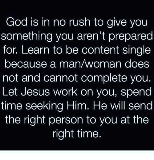 God Is in No Rush to Give You Something You Aren't Prepared