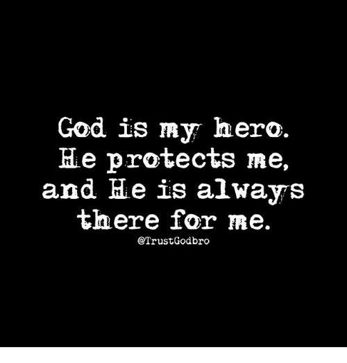 god is my hero
