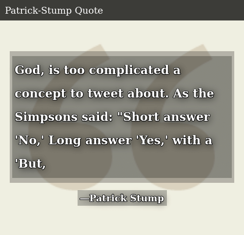 God Is Too Complicated a Concept to Tweet About as the ...