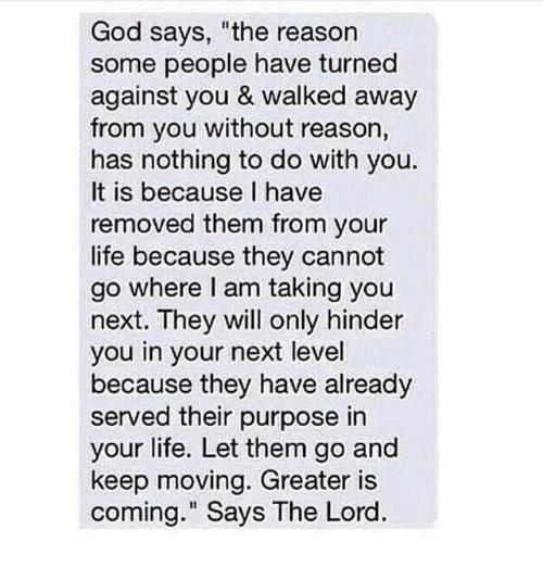 God Says the Reason Some People Have Turned Against You