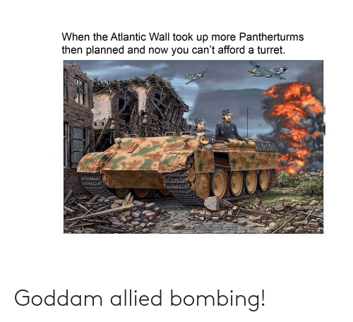 Reddit,  Bombing, and Allied: Goddam allied bombing!