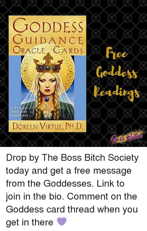 Memes, Oracle, and 🤖: GODDESS GUIDANCE ORACLE CARDS A 44-Ca Guide
