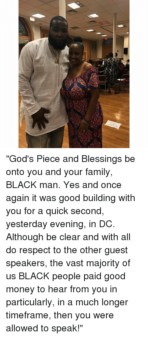 God\'s Piece and Blessings Be Onto You and Your Family BLACK Man Yes ...