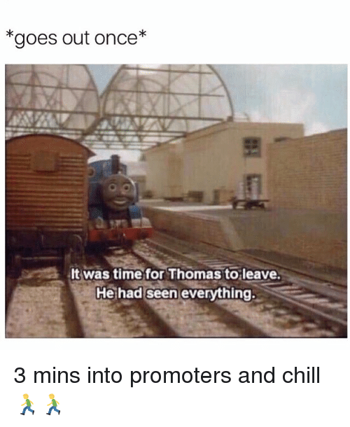 It Was Time For Thomas To Leave