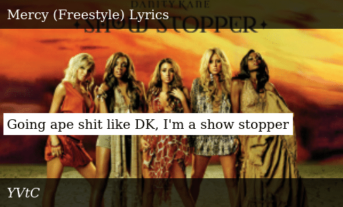 SIZZLE: Going ape shit like DK, I'm a show stopper