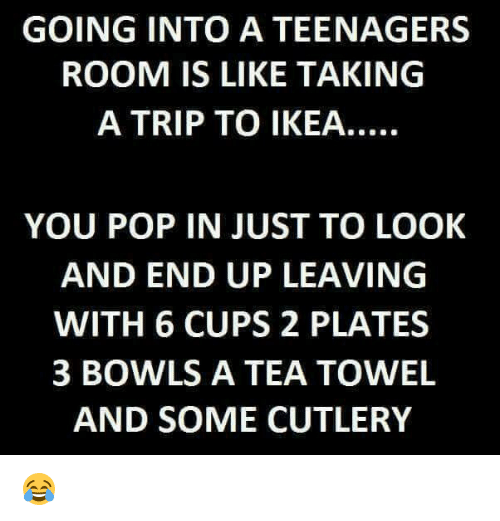 Going Into A Teenagers Room Is Like Taking A Trip To Ikea You Pop In