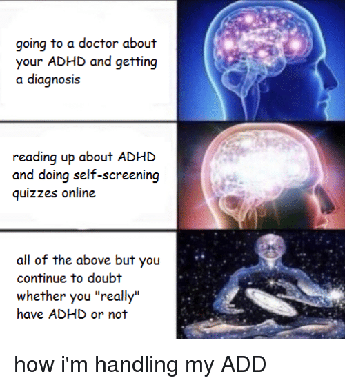 Going to a Doctor About Your ADHD and Getting Reading Up