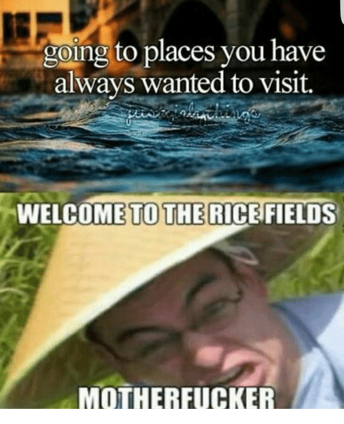 going to places you have always wanted to visit welcome 7241653 ✅ 25 best memes about welcome to the rice fields welcome to,Meme Magic Lamp