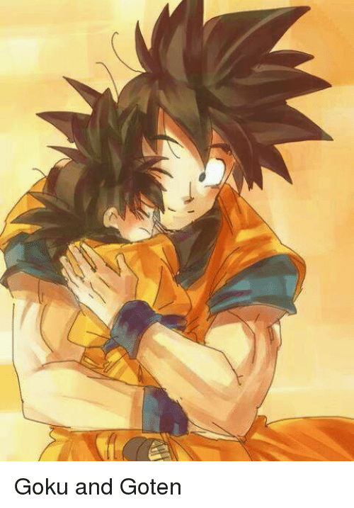 goku and goten meme on me me