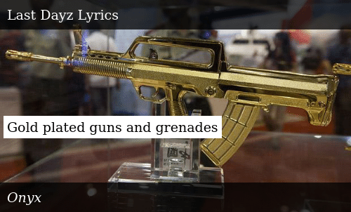 Gold Plated Guns and Grenades | Donald Trump Meme on ME ME