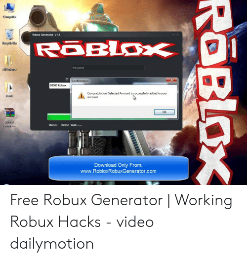 Gomputer Robux Generator V14 Roblox Recycle Bin Freyahot Expenence