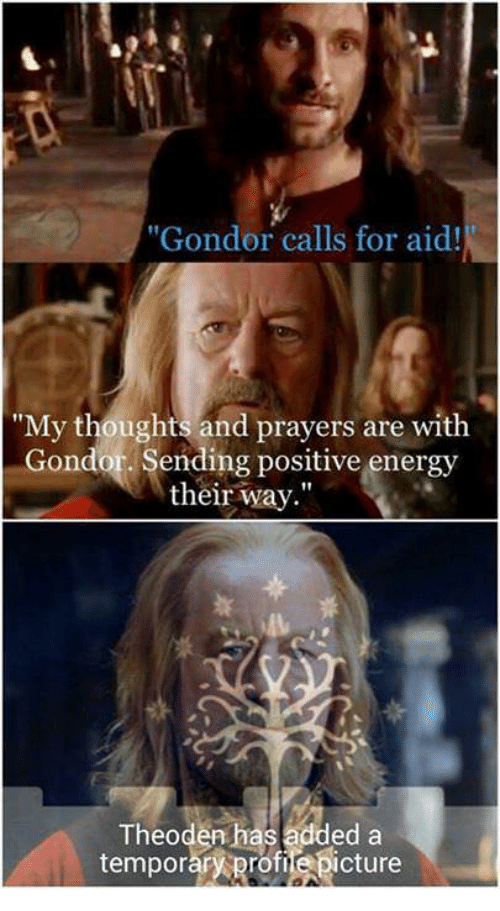 Lord Of The Rings Theoden Change Profile Picture Meme