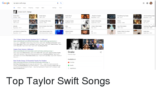 Gooale Top Taylor Swift Songs Videos News Shopping Images