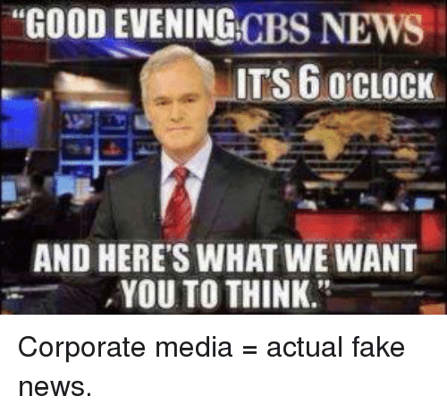 GOOD EVENING NEWS CBS ITS 6 O CLOCK AND HERE'S WHAT WE ...