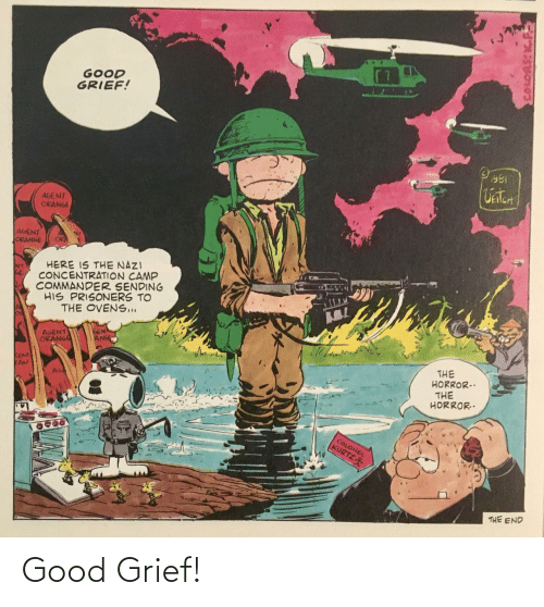 Good, Grief, and Good Grief: Good Grief!