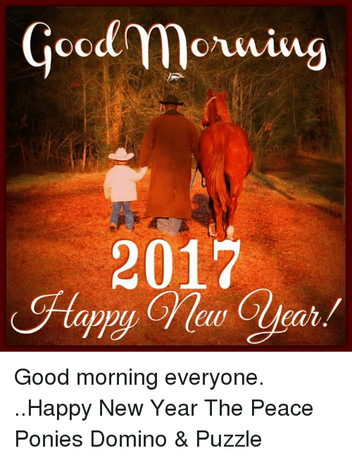 Good Morning 2017 Tae Good Morning Everyone Happy New Year The Peace