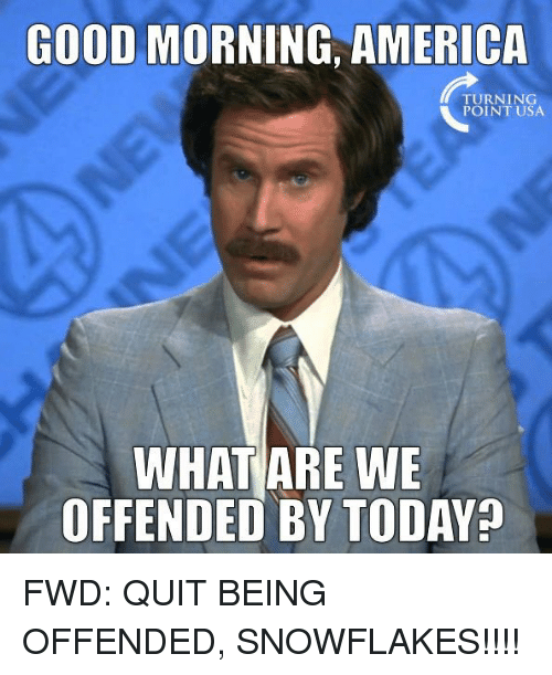 Good Morning America Usa Swimming : Best memes about what are we offended by today