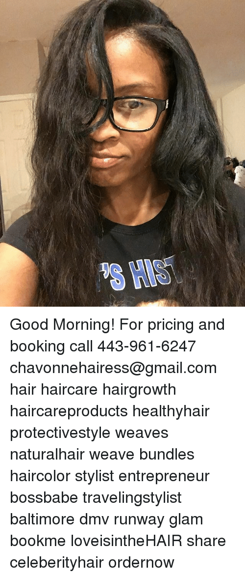 Good Morning For Pricing And Booking Call 443 961 6247