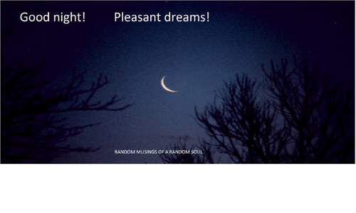 pleasant dreams images
