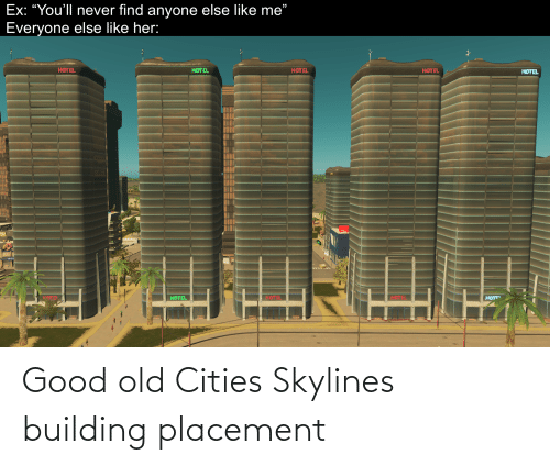 Good, Dank Memes, and Old: Good old Cities Skylines building placement