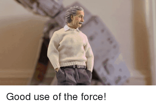 Gif, Star Wars, and Good: Good use of the force!