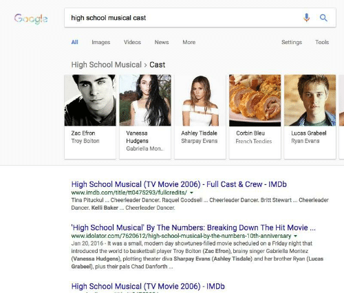 Goog High School Musical Cast All Mages Videos News More Settings