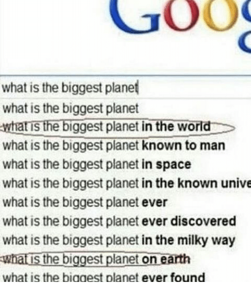 Goog What Is The Biggest Planet What Is The Biggest Planet What Is
