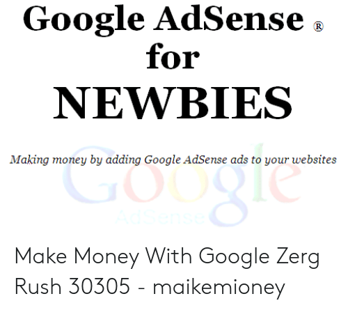 Google AdSense for NEWBIES Making Money by Adding Google