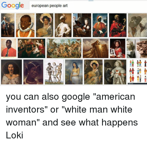 google european people art you can also google american inventors or