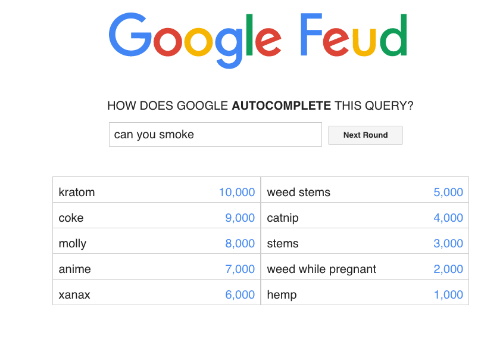 how to build a google feud