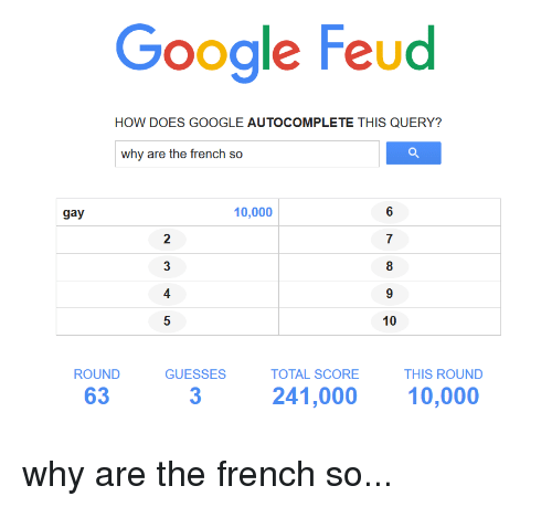 Why Are the French So ...