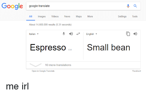 English To Italian Translator Google: Google Google Translate All Images Videos News Maps More