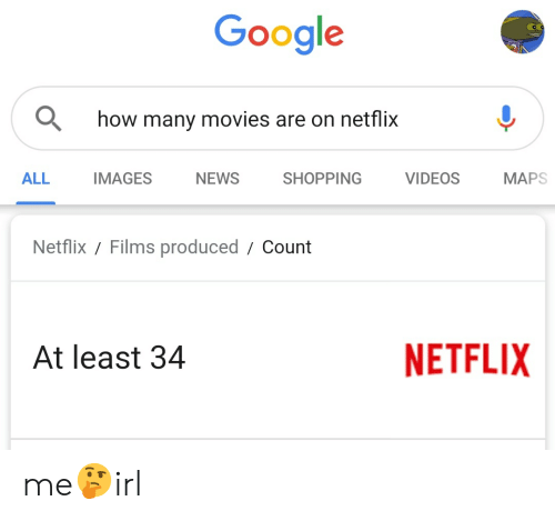 Google How Many Movies Are on Netflix ALL IMAGES NEWS SHOPPING