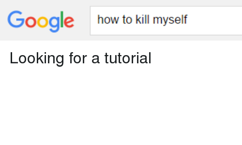 how to kill yourself student