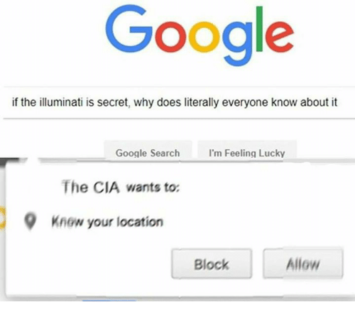 Google if the Illuminati Is Secret Why Does Literally