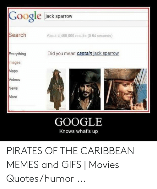 Google Jack Sparrow Search About 4460000 Results 064 Seconds
