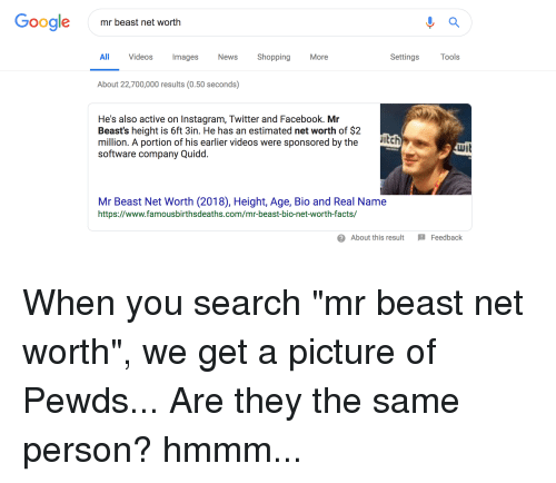 Google Mr Beast Net Worth All Videos Mages News ShoppingMore