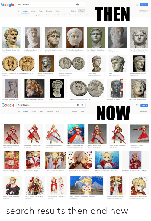 Google Nero Claudius THEN All Images Videos News Shopping More