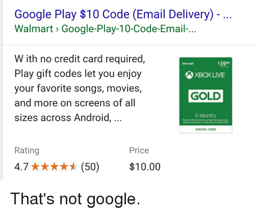 Google Play $10 Code Email Delivery Walmart> Google-Play-10-Code