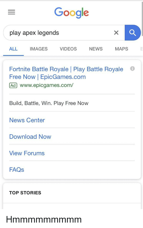 google news and reddit google play apex legends all images videos news maps - fortnite numbers down apex