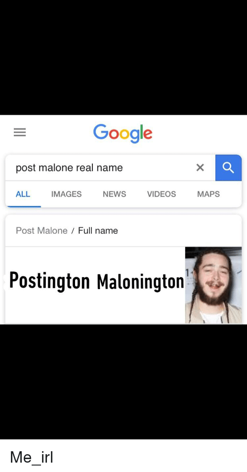 Google Post Malone Real Name All Images News Videosmaps Post Malone