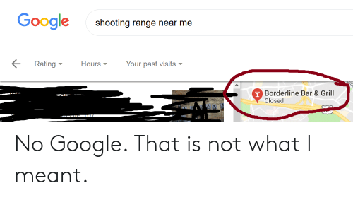Google Shooting Range Near Me Your Past Visits Rating Hours