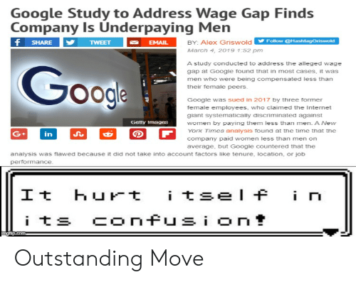 Google Study to Address Wage Gap Finds Company Is Underpaying Men BY