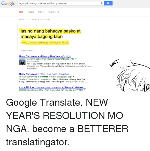 Merry Christmas In Tagalog.Google Tagalog For Merry Christmas And Happy New Year Web