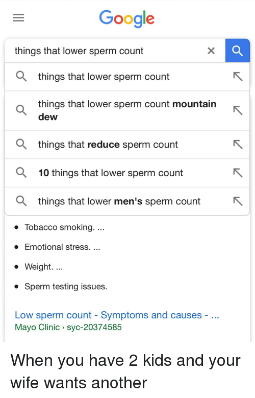 mountain dew lowers sperm count