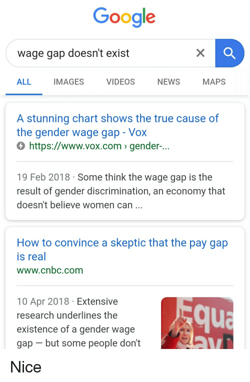 Google Wage Gap Doesn't Exist ALL IMAGES VIDEOS NEWS MAPS Stunning