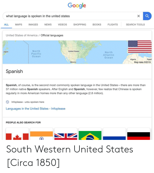 Google What Language Is Spoken in the United States ALL MAPS ...